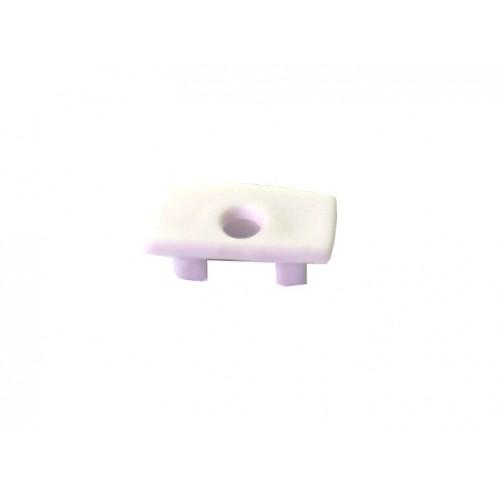 Capuchón perfil alumino superficie 12,3x6.85mm Pack 10 ud