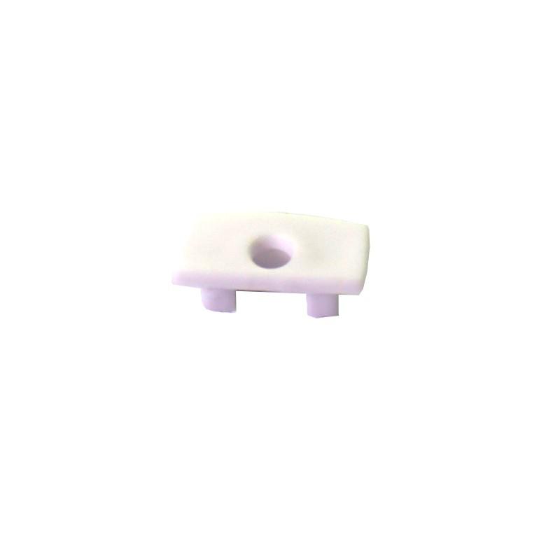 Capuchón perfil alumino superficie 12,3x6.85mm