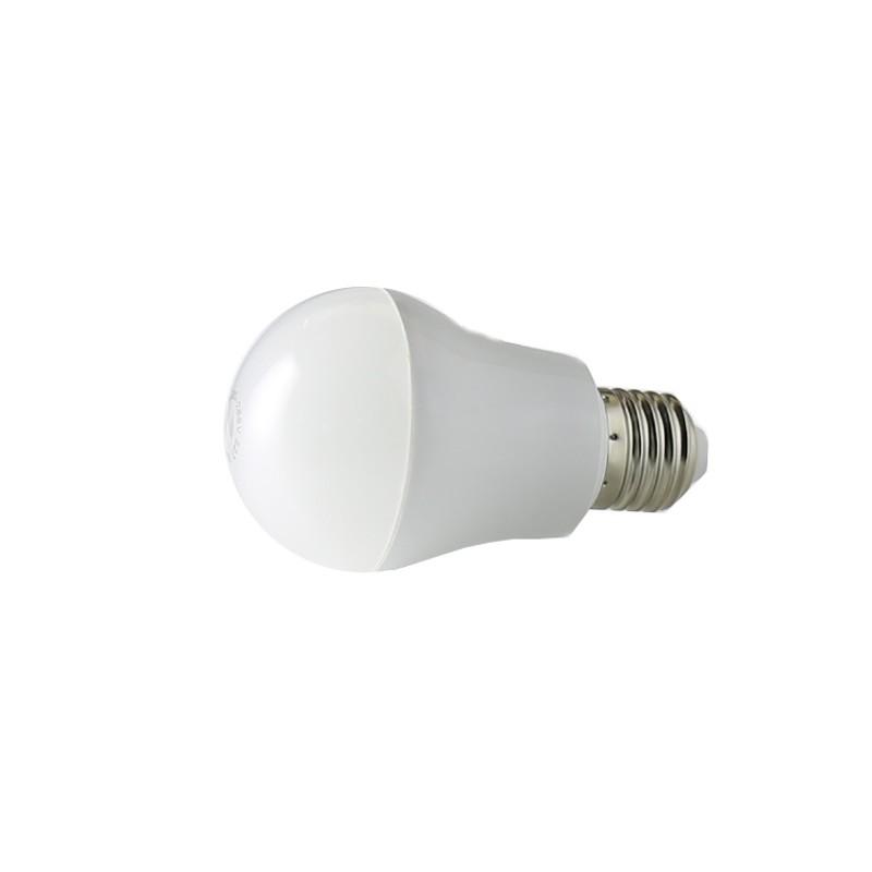 Bombilla con sensor 5W E27 luz blanca 6000ºK
