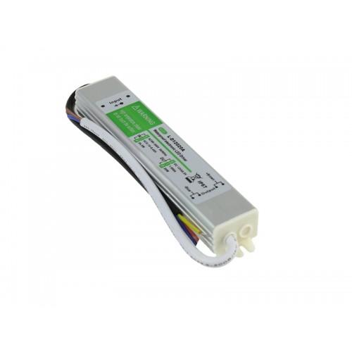 Trasformador 12VDC 1,66A 20W de exterior IP67