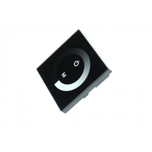 Controlador tactil empotrable monocolor tira 12V/24V 12A