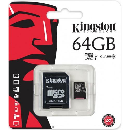 Tarjeta MicroSD 64Gb class 10 SDXC