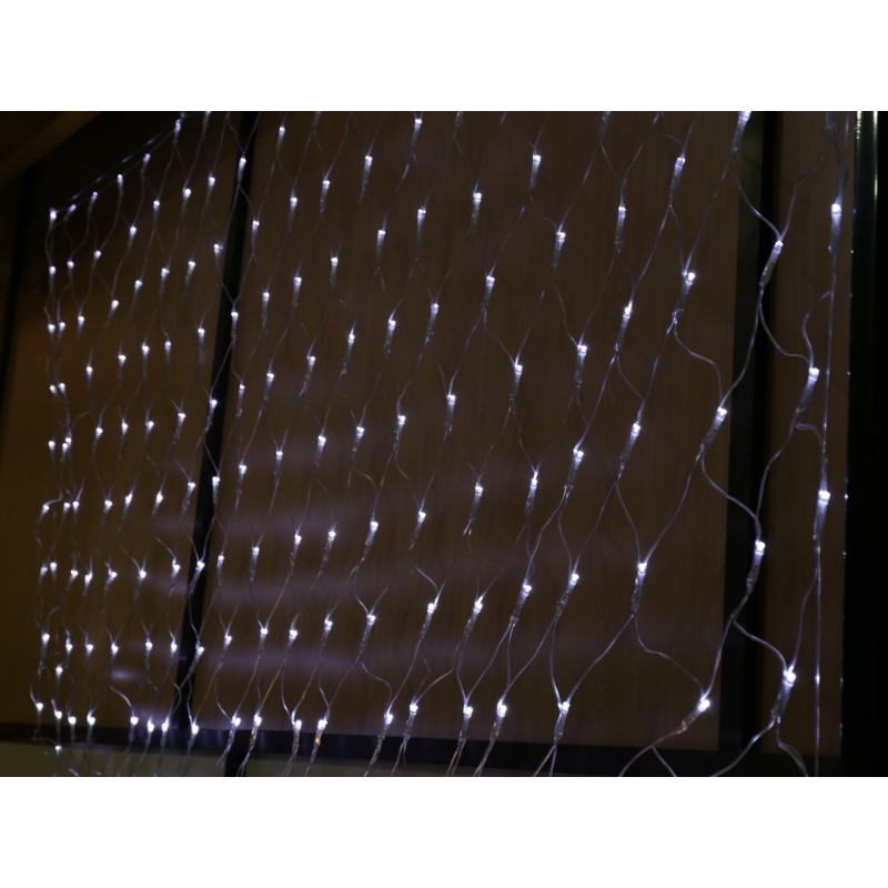 Cortina led luminosa exterior de 1*2 metros luz blanca fija