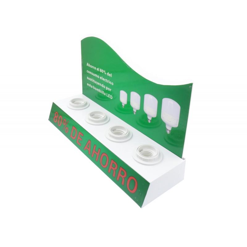 Expositor sobremesa bombillas led E27