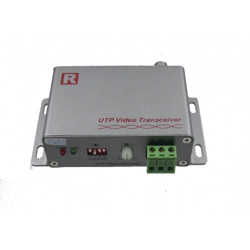 Video balun activo, receptor,1 canal largo alcance