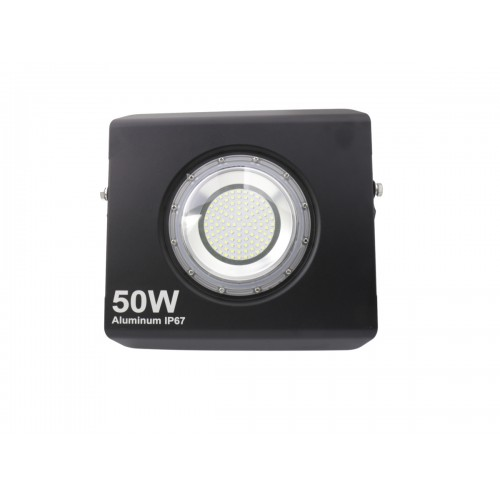 Proyector led extra plano 50W 120º Blanco 6000K exterior