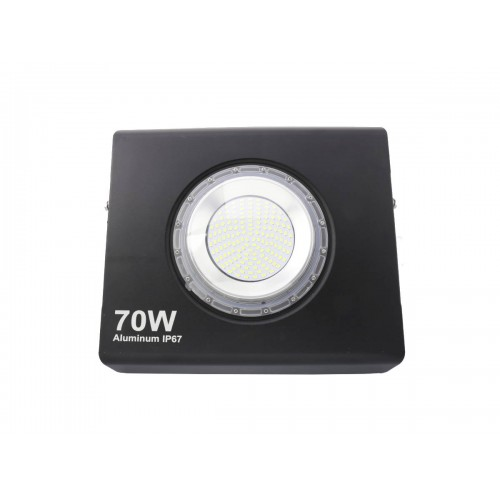 Proyector led extra plano 70W 120º Blanco 6000K exterior