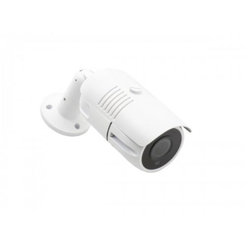 Minidomo 4 en 1 1080P exterior optica motorizada 2,8-12mm infrarrojos 30m Blanco UTC