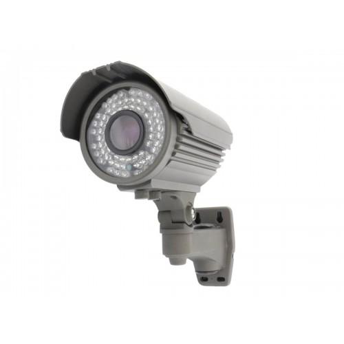 Camara bullet 4 en 1 1080P exterior optica 5-50mm infrarrojos 60m gris OSD