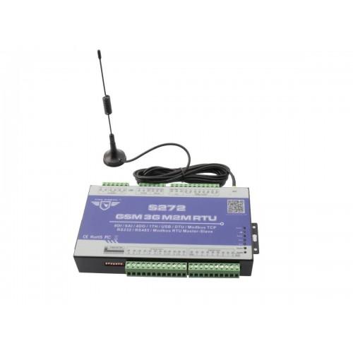 Sistema de control remoto de alarmas analógicas y digitales con 4 salidas de relé