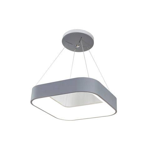 Lámpara led decorativa techo cuadrada 25W 4200K