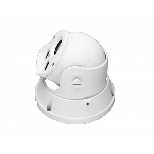 Minidomo 4 en 1 720P exterior óptica 3,6mm infrarrojos ARRAY 50 mts blanco