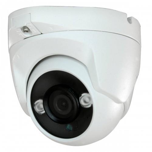 Minidomo 4 en 1 720P exterior 3,6mm infrarrojos OSD blanco