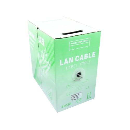 Cable UTP 5E CCA caja 305m