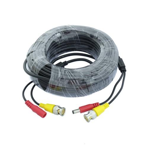 Cable camara 1080P alimentación 20 metros