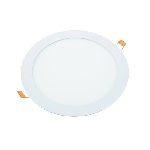 Downlight led 18W 6000K redondo empotrar blanco