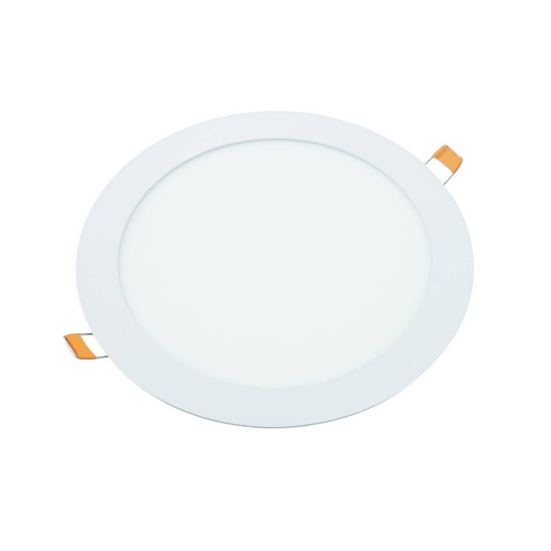 Downlight led 18W 6000ºK redondo empotrar blanco