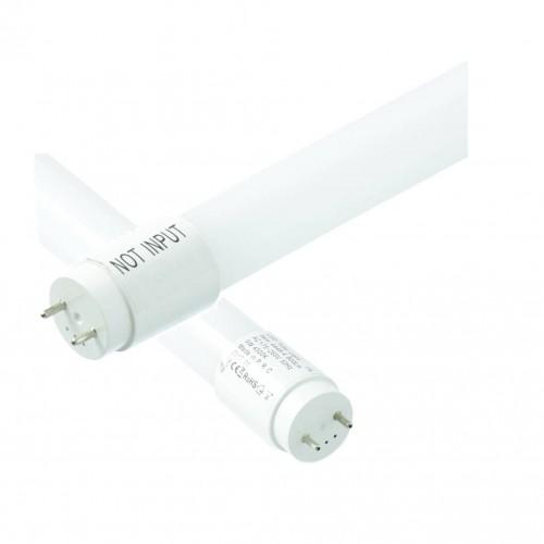 Tubo LED 9W T8 60cm blanco frío 6000ºK conexion 1 lado