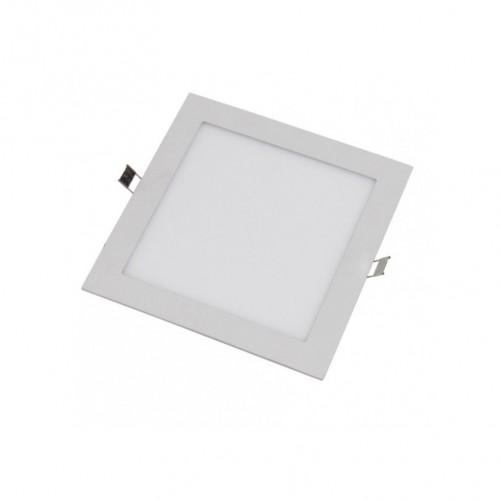 Downlight LED 6W 6000K cuadrado empotrar blanco