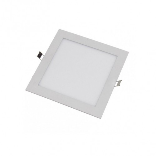 Downlight LED 9W 4000K cuadrado empotrar blanco