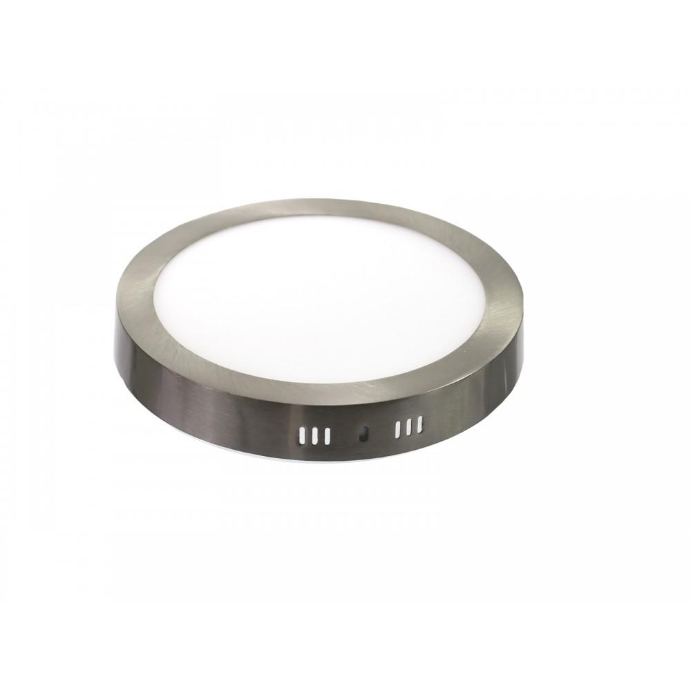 Downlight LED 6W 4000K redondo superficie acero Jandei