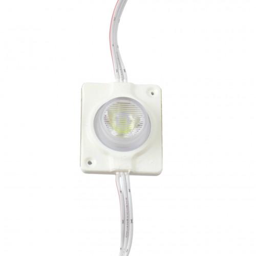 Modulo led 12V 2.8W 6000K SMD3535 exterior IP65 cadena 10 ud