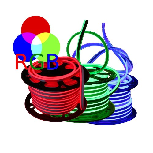 Neon LED flexible simple 60LED/m 7W/m RGB 50m