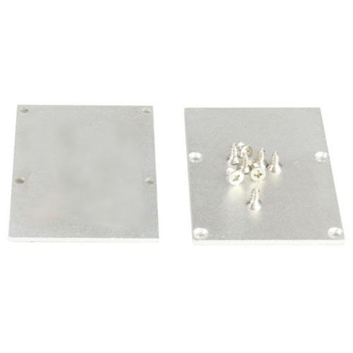 Tapa final perfil alumino superficie 50*70mm Pack 10 ud