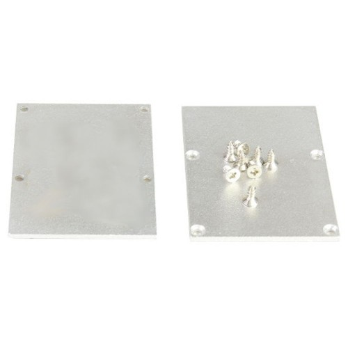 Tapa final perfil alumino superficie 50*70mm