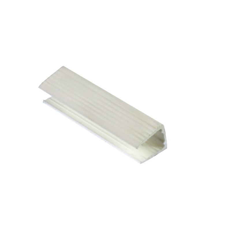 Neon LED clip fijacion plastico 1 y 2 caras 5cm