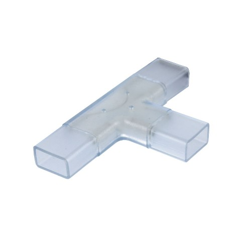 Neon LED conector T transparente neon led flexible 1 y 2 caras