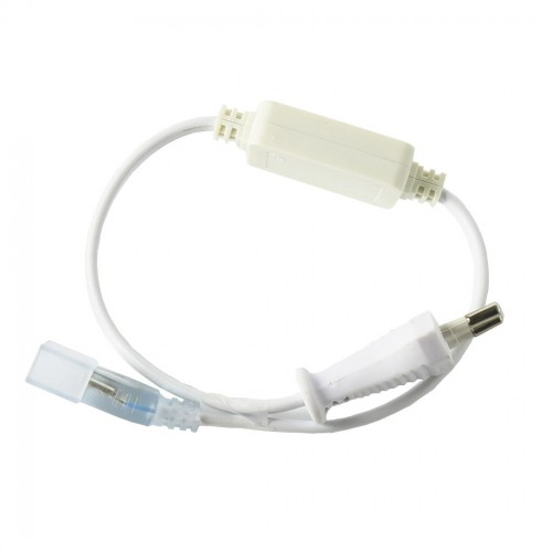 Neon LED kit conexión monocolor cable rectificador exterior IP65