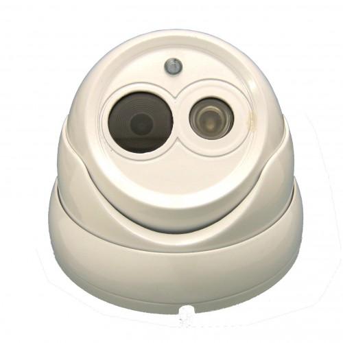 Mini domo IP 1.3MP 720P exterior  3.6 mm IR-CUT Array