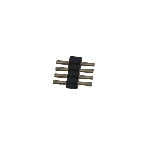 4 pin para tira led rgb 10mm ( 500 uds) bolsa