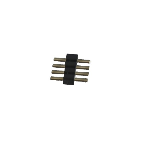 4 pin para tira led rgb 10mm ( 500 uds) bolsa