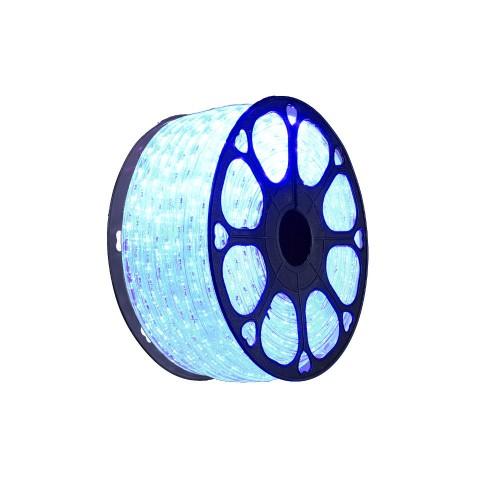 Hilo luminoso led Azul exterior corte 0,5m 220V bobina 50m
