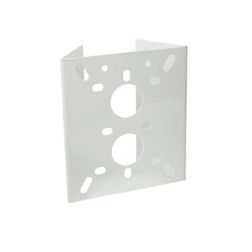 Soporte para poste  camara y domo diametro max 200mm metalico epoxy