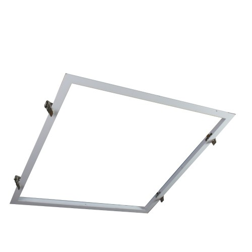 Marco panel led 60*60 empotrar blanco
