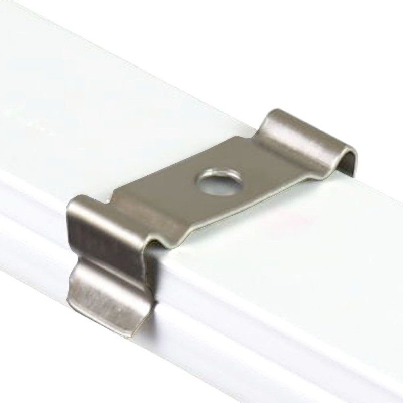 clip para perfil aluminio 12.3 x 6.08mm Pack 10 ud