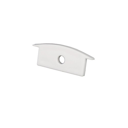 Tapa final perfil alumino empotrar 23.3*9.7mm Pack 10 ud
