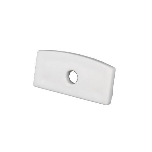 Tapa final perfil alumino superficie 23.3*9.7mm Pack 10 ud