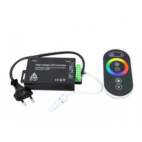 Control RGB para tira de led RGB 18W metro 1500W