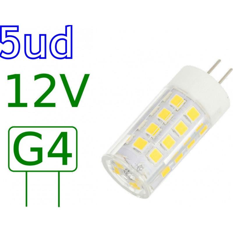 Bombilla LED G4 5W blanco natural 4000ºK Blister 5 uds