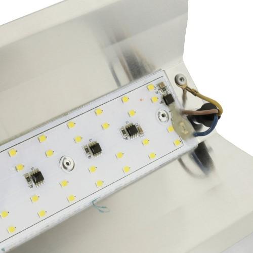 Regleta led colgante 50W exterior luz blanca 6000K