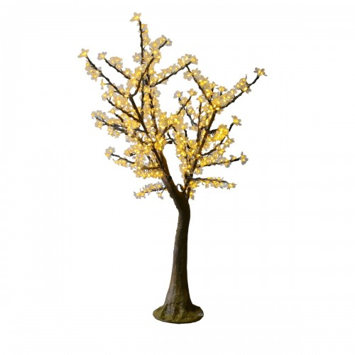 Arbol led cerezo blanco 2700K 1,5m 384 led exterior 20W 220V