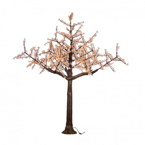 Arbol led cerezo blanco 27000K  2,5m 1536 80W 220V