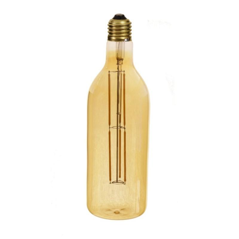 Bombilla filamento led 8W botella dorada E27 blanco 2700K