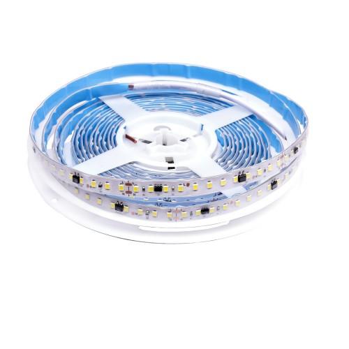 Tira de led estecha 220V sin rectificador 14W/m 3000K bobina 5m IP65