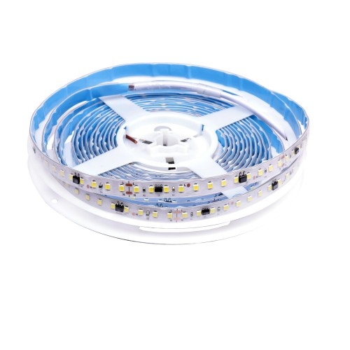 Tira de led estecha 220V sin rectificador 14W/m 4000K bobina 5m IP65