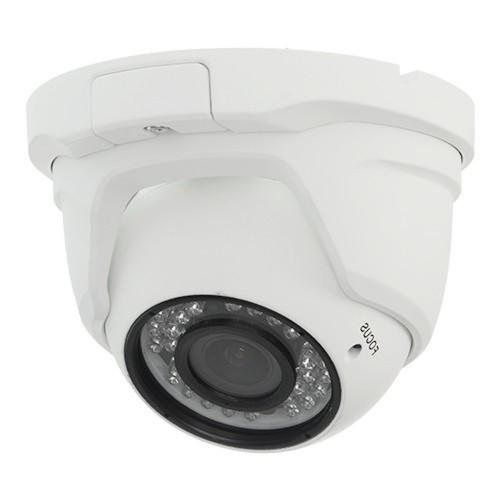 Minidomo 4 en 1 720P exterior varifocal 2,8-12mm infrarrojos 30 metros aluminio blanco